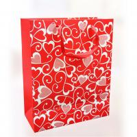 Best 150gsm Craft Paper Custom Printed Gift Bags For Valentine's Day 12.5 X 6 X 17cm wholesale
