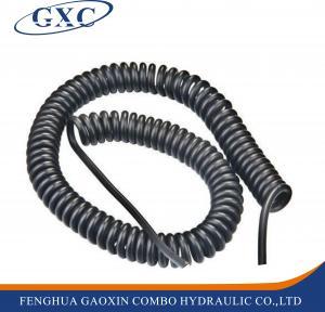 Best PUC1208 15M PU Air Coil Hose Pneumatic Polyurethane Telescopic Spring Tube wholesale