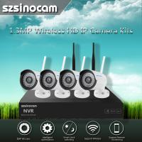 Cheap 2.4GHZ Full WIFI NVR Kits For Easy Installtion and Safty Security wholesale