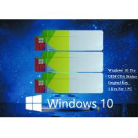 Best Genuine COA License Sticker COA X20 64Bit Operating System 100% Original Activate wholesale