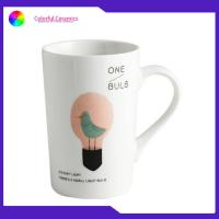 Best Durable Promotional Ceramic Coffee Mugs Food Contact Safe 12 Oz With Decal wholesale