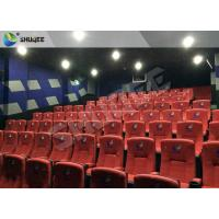 Best New Design 4D Movie Theater Red Chairs Pneumatic System / Hydraulic System wholesale