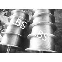 Best High Performance Steel Wire Rope Drum , Fully Machined Lebus Grooved Drum wholesale