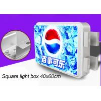 Best Double Sided Rectangular Vacuum Forming Light Box For Outdoor Advertising 40x60cm wholesale