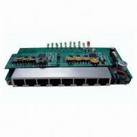 China 8-port 10/100Mbps PoE Modular, Complies with IEEE 802.3af PoE Standards, All Ports with PoE Function on sale