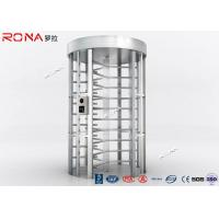 Best RFID Flexible Pedestrian Turnstile Gate , High Security Turnstile Heavy Duty Steel Frame wholesale