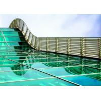 Quality Skylight 5mm two layers laminated toughened glass , Processed Solid Bent Laminated Glass wholesale