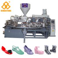 Best Fully Automatic Rotary Plastic Shoes Making Machine For PVC Jelly Shoes short boots sandals slippers wholesale