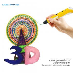 Best Eco Friendly Mini Creo Pop 3d Pen , Magic Three D Printer Pen For Kids wholesale