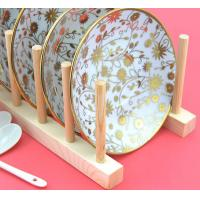 Best Wood Flat Plate Drying Rack /Pot Lid Holder wholesale