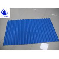 China Lightweight Waterproof PVC Plastic Roof Tiles Sheets For Building on sale