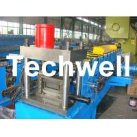 Best 12 Forming Stations PLC Control System U Shape Roll Forming Machine for Steel U Purlin wholesale