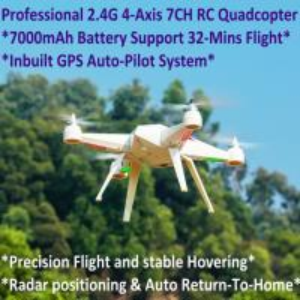 Best 2.4G 7CH Headless Predator RC Quadcopter Drone 32-Mins Flight & Inbuilt GPS One-Key Return wholesale
