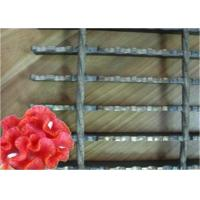 Best Serrated Steel Grid Mesh Flooring , Sliding Resistance Steel Platform Grating wholesale