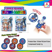Best Flying saucer with compress candy with yummy candy wholesale