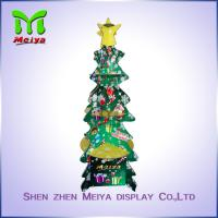 Best Christmas Party Decoration Custom Cardboard Displays , recycled corrugated floor display wholesale