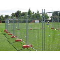Best Safety Removable Steel Temporary Fencing 0.9x2.0 Meter Easily Assembled wholesale