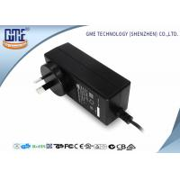 Best Black 2 Prong 36W Switching Power Adaptor With 1.5m Cable , 84.78% Efficiency wholesale