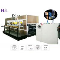 Best Auto Indexing System,Automatic High Freqency PVC Soft Crease Box Making Machine For Making PVC Folding Box wholesale