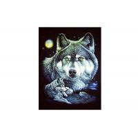 Best 30x40cm Cool Wolves 3D Lenticular Poster For Gifts And Home Decoration wholesale