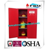 Explosion Proof Chemical Safety Storage Cabinets 45 Gallon For Industry Paint And Inks