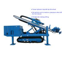 Best Φ150~Φ250 Hydraulic Impact  80~100 m   Top Drive Anchor Drilling Rig wholesale