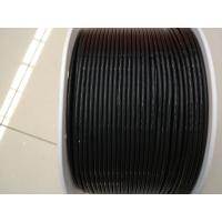 Best Antistatic Black Color Pu Round Belt For Electronic Accessories , 400m / Roll wholesale