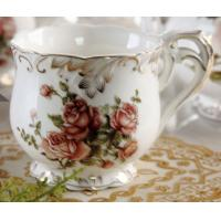 China European ceramic coffee cup sets 8 pieces on sale