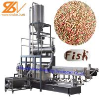 China Fish Food Processing Equipment Floating And Sinking 58-380 KW Power on sale