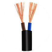 H05VV-F Flexible cable 2 core