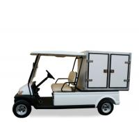 China Two Person Street Car Golf Cart , Motorized Utility Cart With Manual Lifted Box on sale