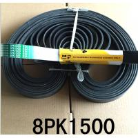 China Engine Fan Belt 8PK1500 Excavator Parts With Butadiene Rubber Material on sale
