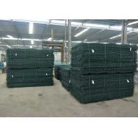 Best PVC Coated Galvanized Reno Gabion Mattresses 6*2*0.3m Used In Rivers protection wholesale