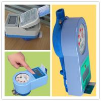 China PPO Material IC Card Water Prepaid Meters , 15mm - 25mm Household Water Meter Touch Type on sale