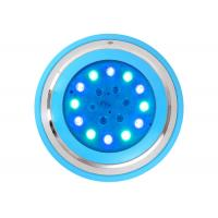 China RGB Underwater Led Lights Wall Mounted Surface Installation 54W 18W Fiber Optic Pool Lighting on sale