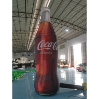 Best ASTM 4m Tall Advertising Inflatable Coca Cola Bottle wholesale