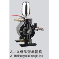 Best 1/4p pneumatic diaphragm pump A10 boutique type single line type for UV roller coating shower coating wholesale