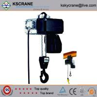 Best Attractive and reasonable price Low Clearance Double Speed Electric Chain Hoist wholesale