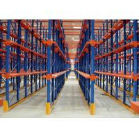 Quality Multi Tier Warehouse Metal Drive In Racking For Cold Room Storage / Food Industry wholesale