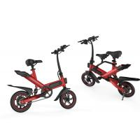 Best Micro Adult Folding Electric Bike 36V 10AH Lithium Battery Powered Eco - Friendly wholesale
