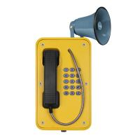 Best Rugged Outdoor SIP Phone Aluminum Alloy Die Casting Body With Broadcast wholesale