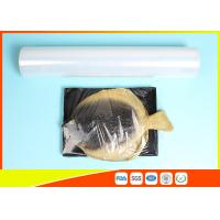 Best Fresh Stretch Pvc Cling Film Food Wrapping , Transparent Soft Catering Plastic Wrap wholesale