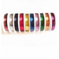Best OEM 0.3mm Multicolor Shamballa Bracelet Cord, Copper Wire wholesale