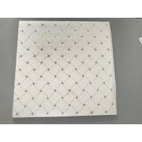 Cheap Easy Maintenance PVC Ceiling Tiles For Restaurant / Hotel OEM / ODM Design for sale