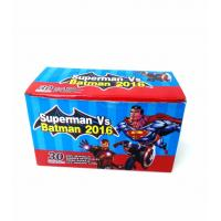 Best Heroes Series-Superman VS Batman Chewy Candy Looks Clolorful Tastes Sweet wholesale