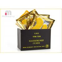 Best Anti - Aging And Wrinkle 24K Gold Collagen Eye Masks Relieves Tired Eyes wholesale