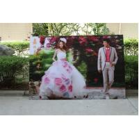 Best 2021 new year wholesale 3d lenticular printing wedding photos with depth 3d moving effects by UV flabed printer wholesale