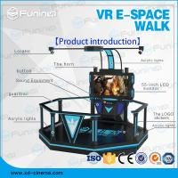 China 1 Player VR Walking Simulator Virtual Reality Stand Platform With Boxing Games on sale