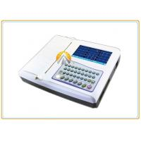 Best 12 Leads Waveforms Portable ECG Machine 7 Inch TFT LCD Touch Screen 12 Channel wholesale