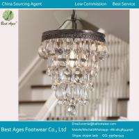 Best Crystal Pendant Light Purchasing Agent Services Crystal Ceiling Lamp wholesale